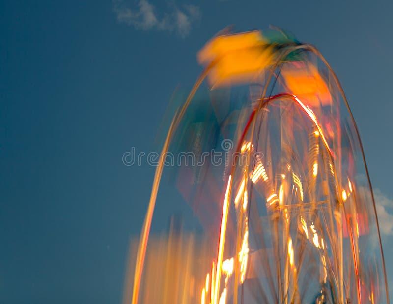 Ferris Wheel Carnival Ride fotografia stock libera da diritti