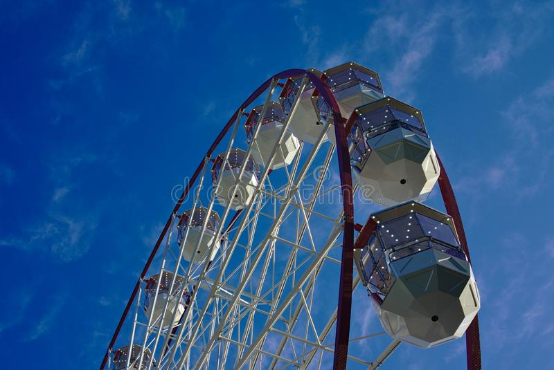 Ferris Wheel Carnival Ride royaltyfri foto
