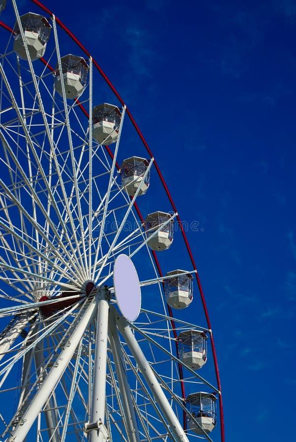 Ferris Wheel Carnival Ride royalty-vrije stock foto's