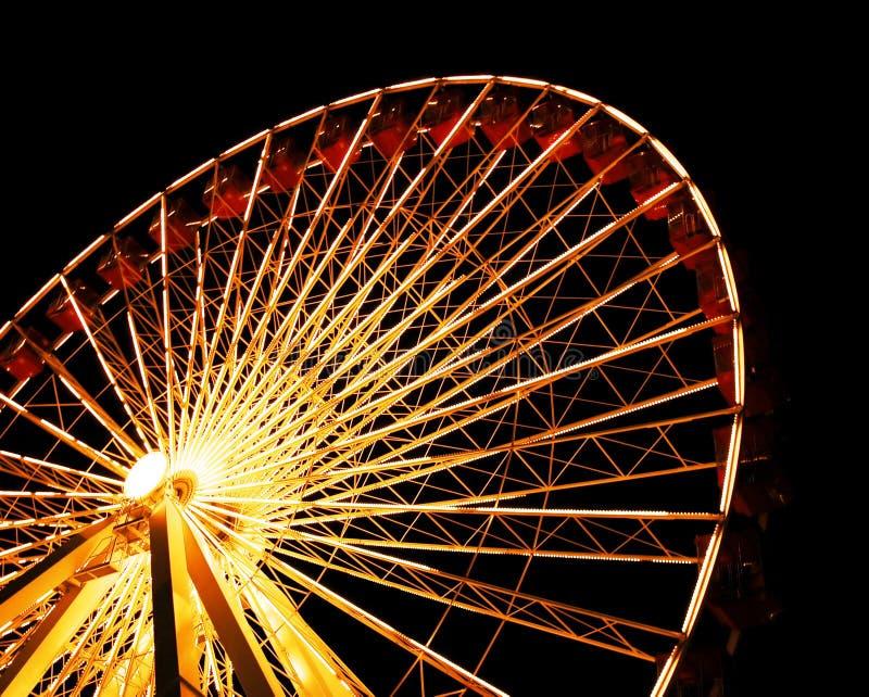 Ferris Wheel at Chicago's Navy Pier stock image