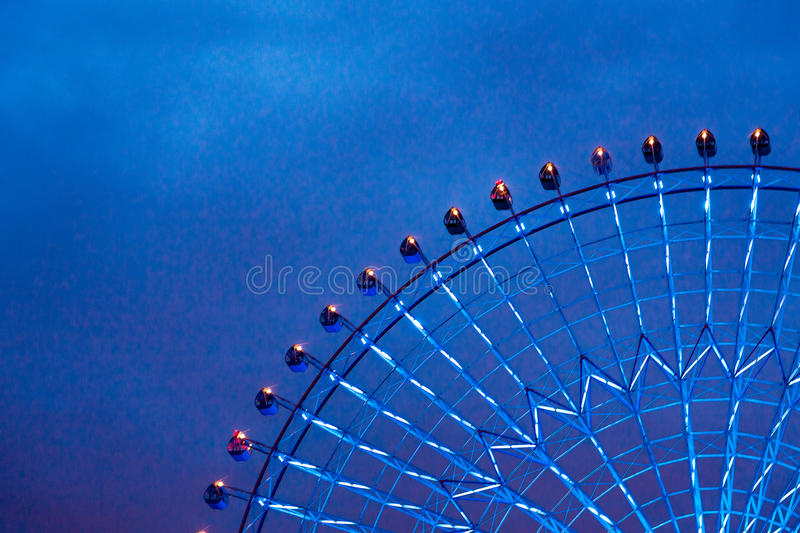 Ferris Wheel-detail royalty-vrije stock fotografie