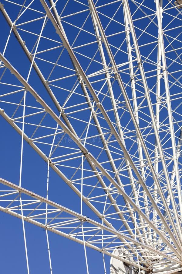 Ferris Wheel (Details) lizenzfreie stockfotos