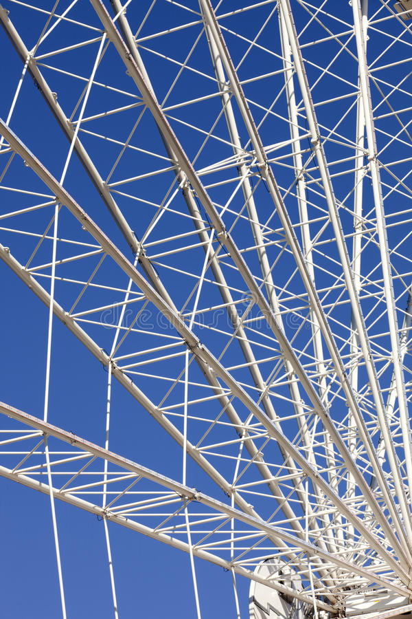 Ferris Wheel (dettagli) fotografie stock libere da diritti