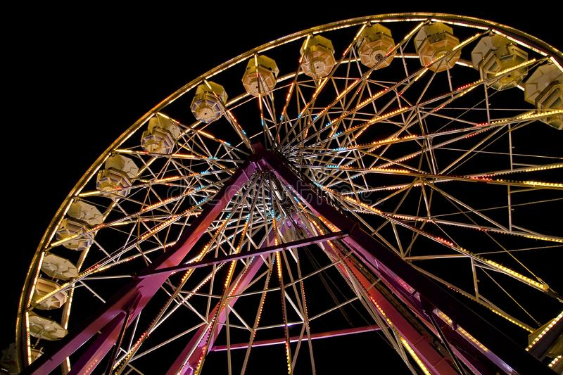 Download Ferris wheel at the fair stock photo. Image of carousel - 6844464