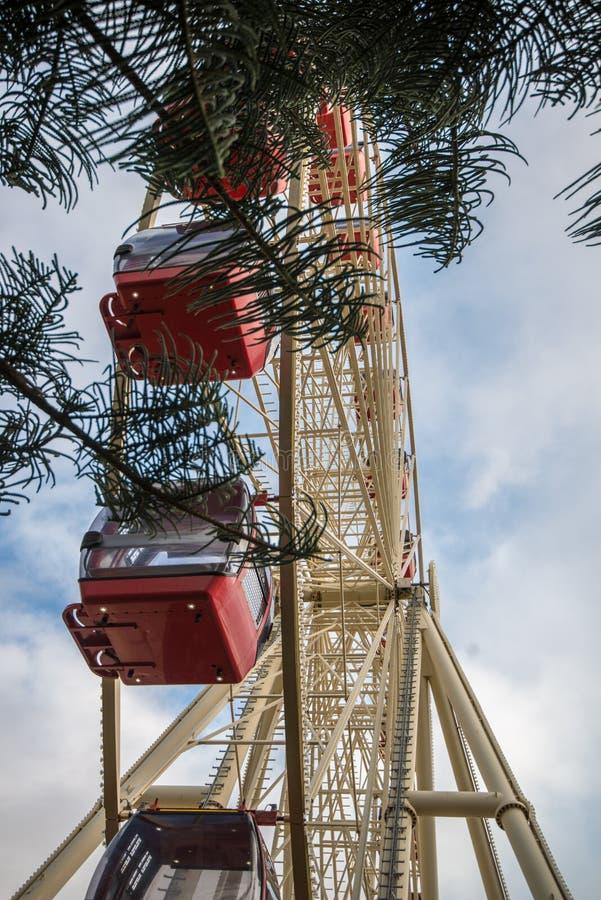 Ferris Wheel in Fremantle stock afbeeldingen