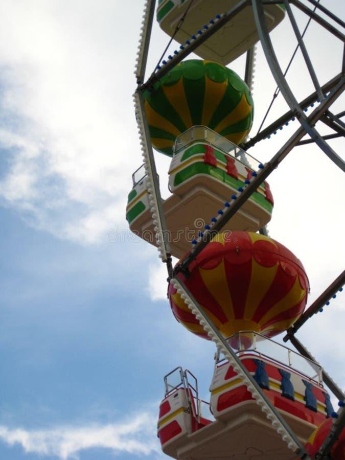 ferris-wheel-gondolas royalty free stock photography