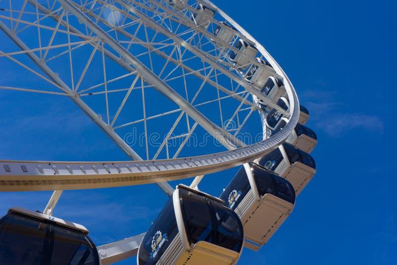 Ferris Wheel grande - horizontal fotos de archivo libres de regalías