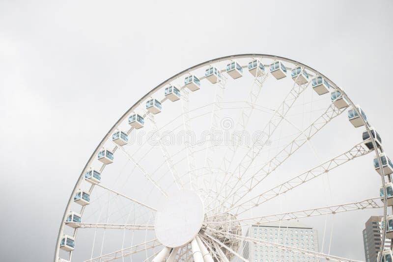 Ferris Wheel i Hong Kong arkivbild