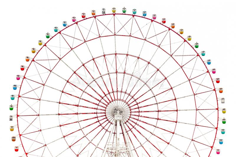Download Ferris Wheel Isolated Stock Photo - Image: 24445800