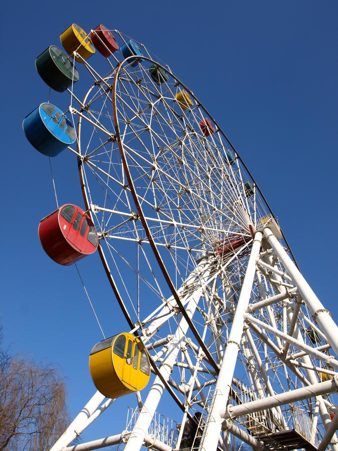 Download Ferris wheel in JiNan stock photo. Image of thrilling - 14850946
