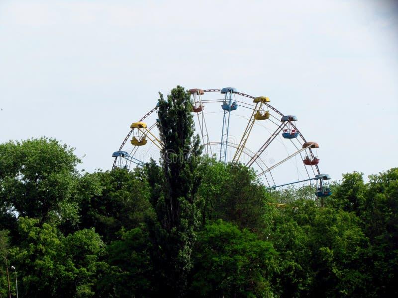 Ferris Wheel Kremenchug imágenes de archivo libres de regalías