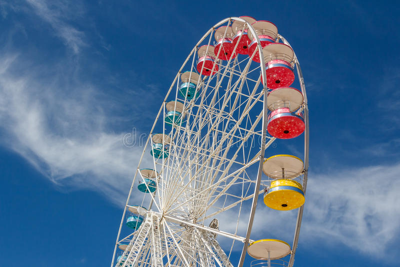 Ferris wheel in La Rochelle royalty free stock photography