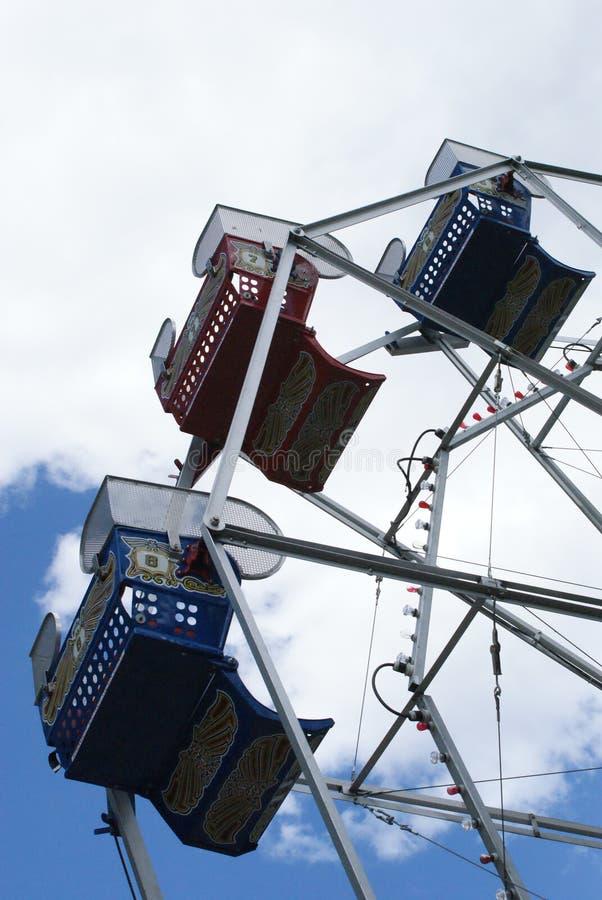 Ferris Wheel at Liberty Park stock photography