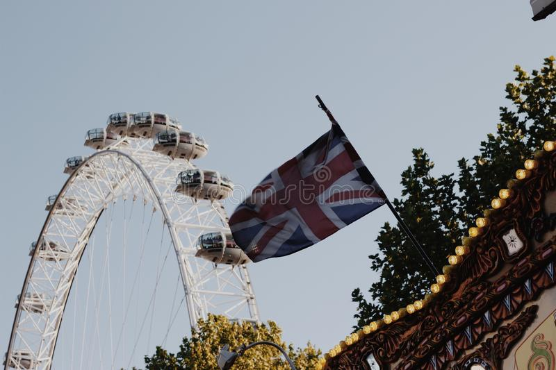 Ferris Wheel London Eye royalty free stock images