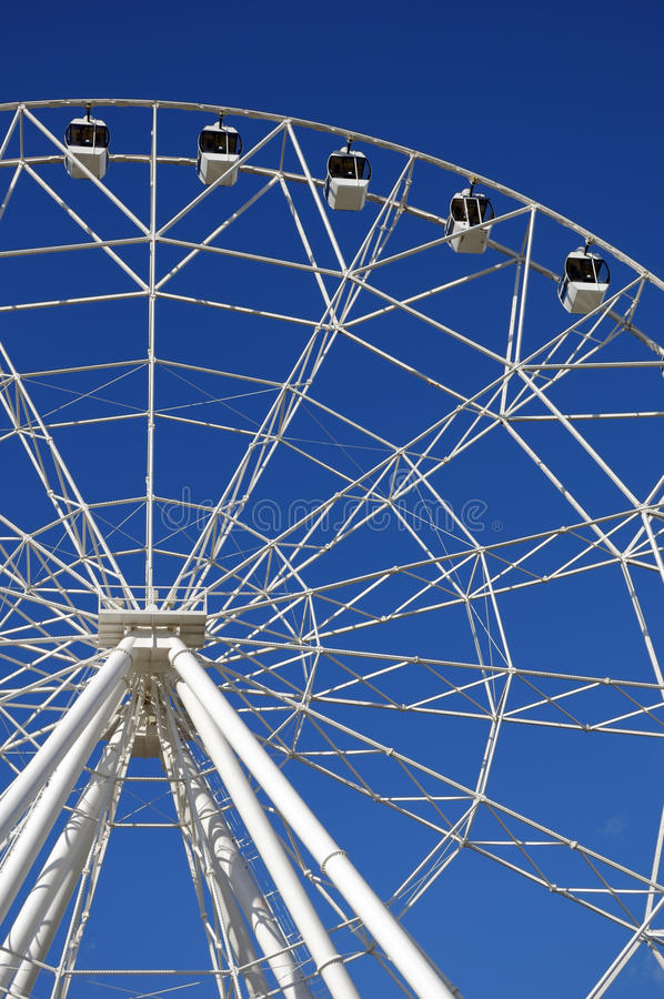 Ferris wheel 65 meters high. Park of October revolution. Rostov-on-Don, Russia.  stock photo