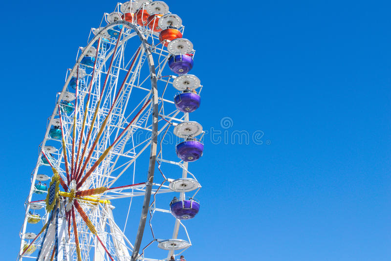 Ferris Wheel on Munich`s Theresienwiese stock images