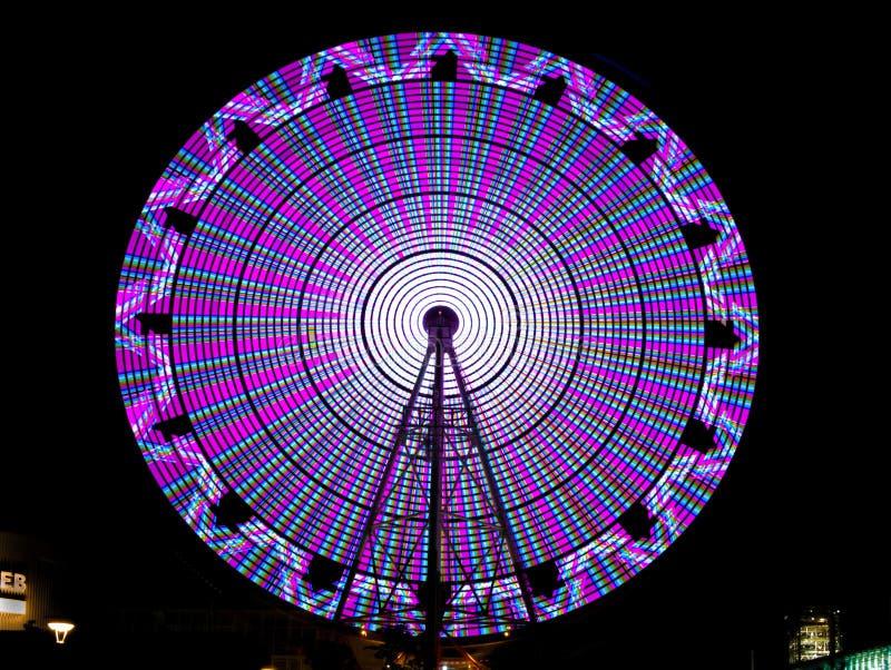 Ferris Wheel At Night photos stock