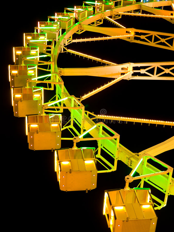 Download Ferris Wheel at night stock photo. Image of traditional - 6545124