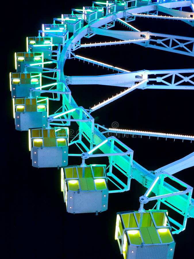 Download Ferris Wheel At Night Royalty Free Stock Images - Image: 6545129