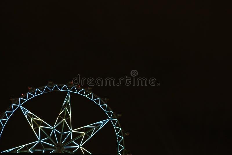 Ferris Wheel At Night images stock