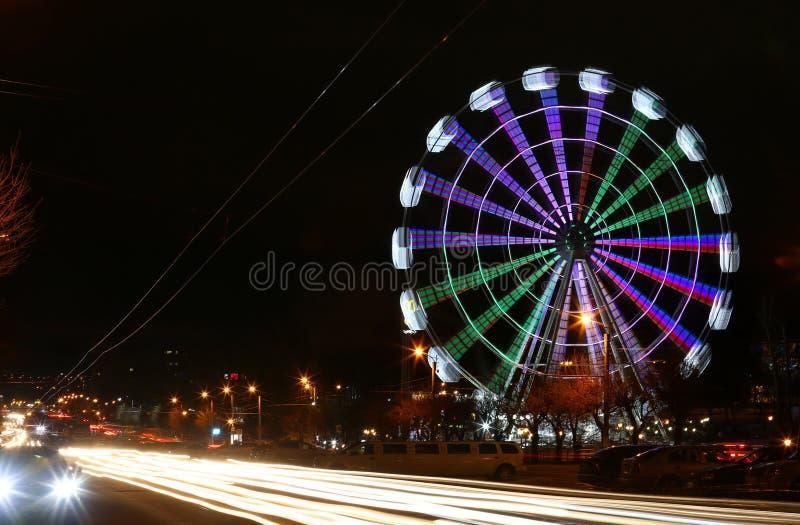 Ferris Wheel At Night photo libre de droits