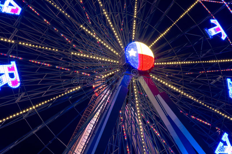 Download Ferris wheel at night stock photo. Image of outside, night - 72853194