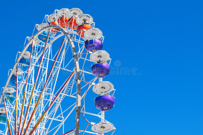 Ferris Wheel no ` s Theresienwiese de Munich imagens de stock