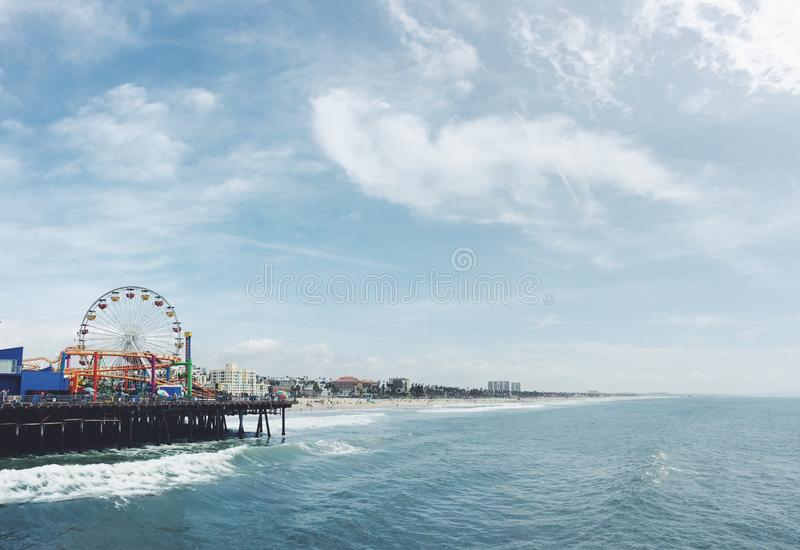Ferris Wheel Beside Ocean During Daytime Free Public Domain Cc0 Image