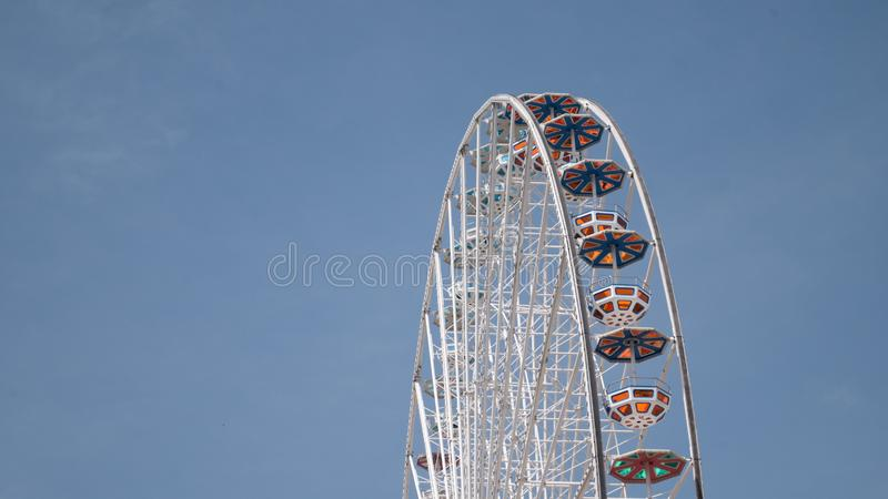 Ferris wheel at Prater vienna stock photos