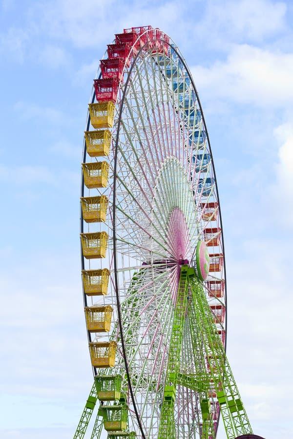 Ferris wheel. In Puerto de la Cruz, Tenerife, Canary Islands, Spain stock photo