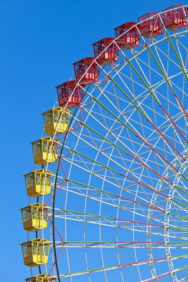 Ferris wheel. In Puerto de la Cruz, Tenerife, Canary Islands, Spain stock photography