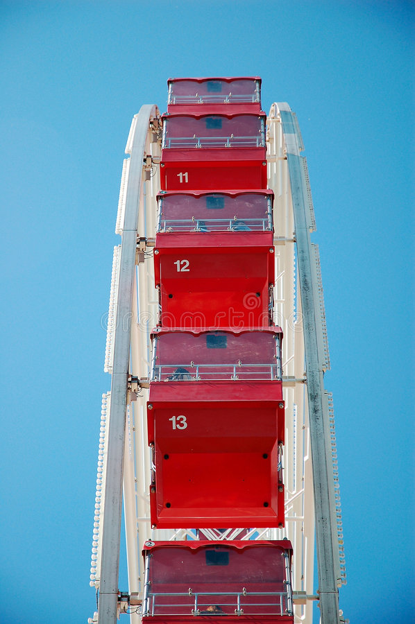 Ferris Wheel Seats royalty free stock images