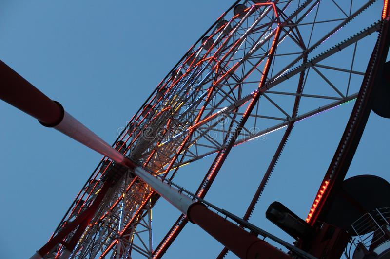 Ferris wheel in the sky royalty free stock image