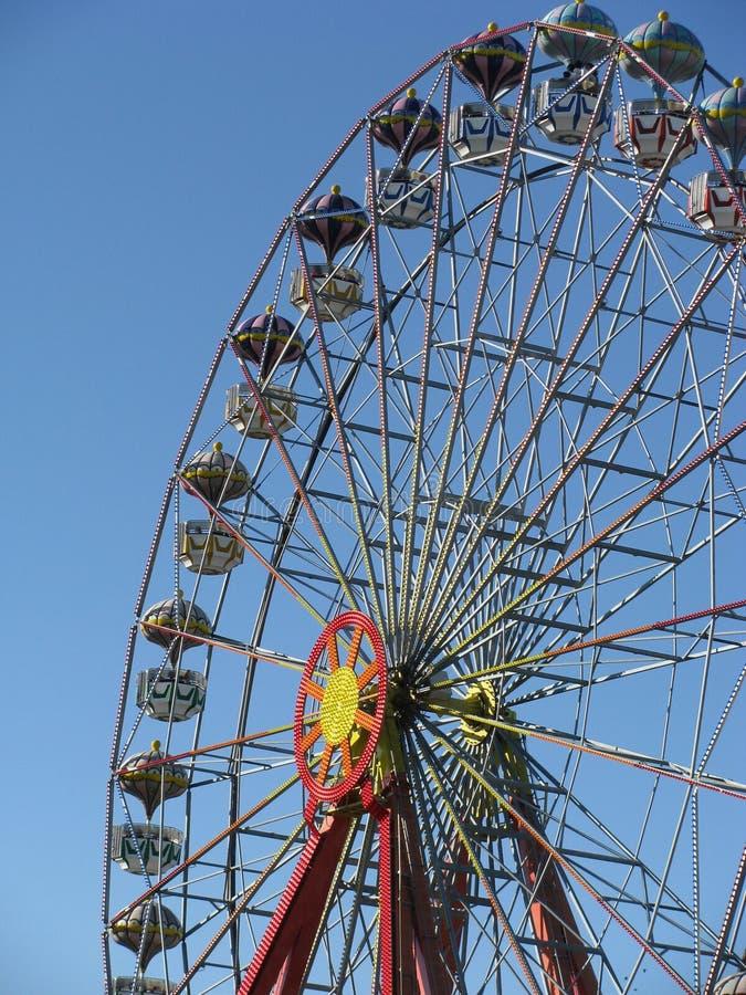 Ferris wheel in Tigre, Buenos Aires stock photo