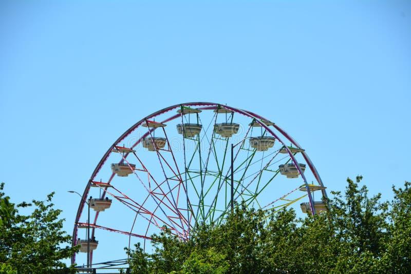 Download Ferris Wheel In Portland, Oregon Stock Photo - Image of carnival, willamette: 117970538