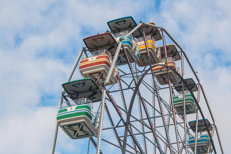 Ferris Wheel Top royalty free stock photo