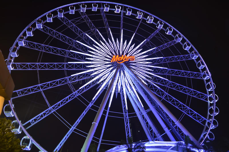 Ferris Wheel Up Close photos stock