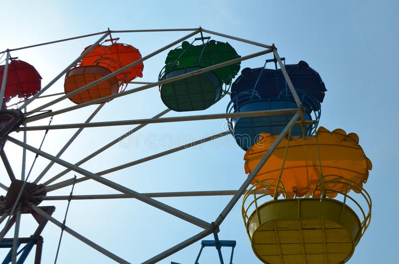 Ferris Wheel vermaak recreatie stock foto's