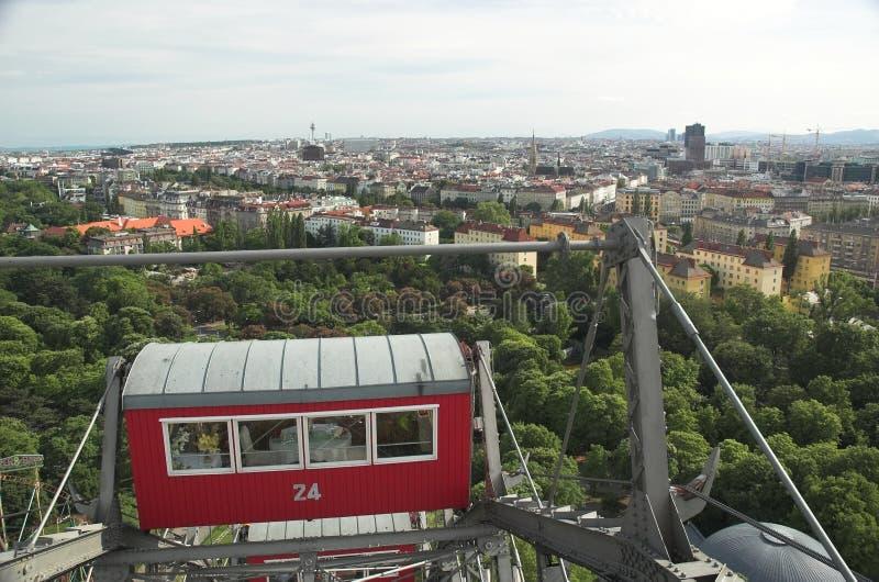 Ferris Wheel Vienna stock photo