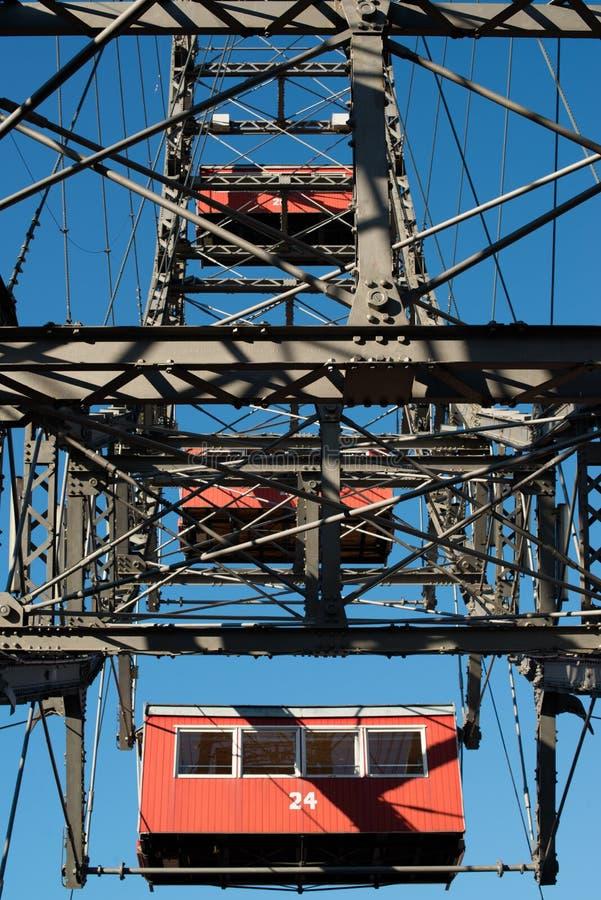 Ferris Wheel At Vienna Prater Stock Photos
