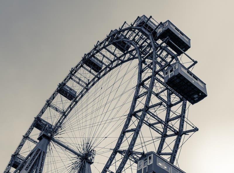 Ferris Wheel Vienna Prater immagini stock libere da diritti