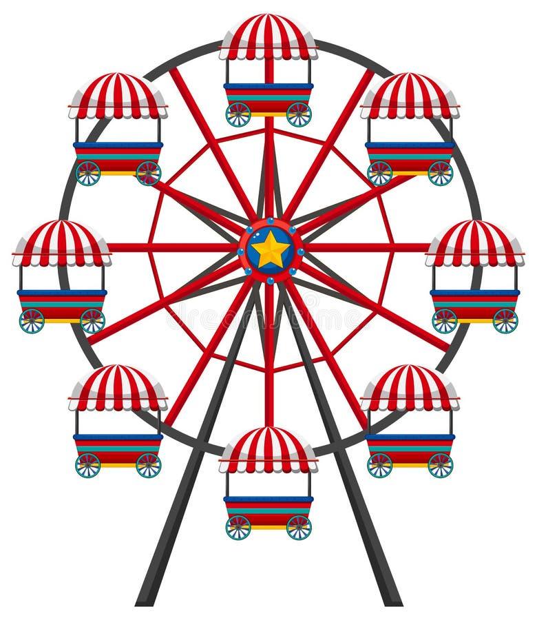ferris wheel on white background stock vector illustration of rh dreamstime com ferris wheel clipart images ferris wheel clipart free