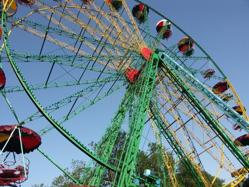 Download Ferrishjul fotografering för bildbyråer. Bild av park, hjul - 240845