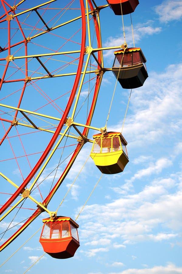 Ferriswheel stock foto's