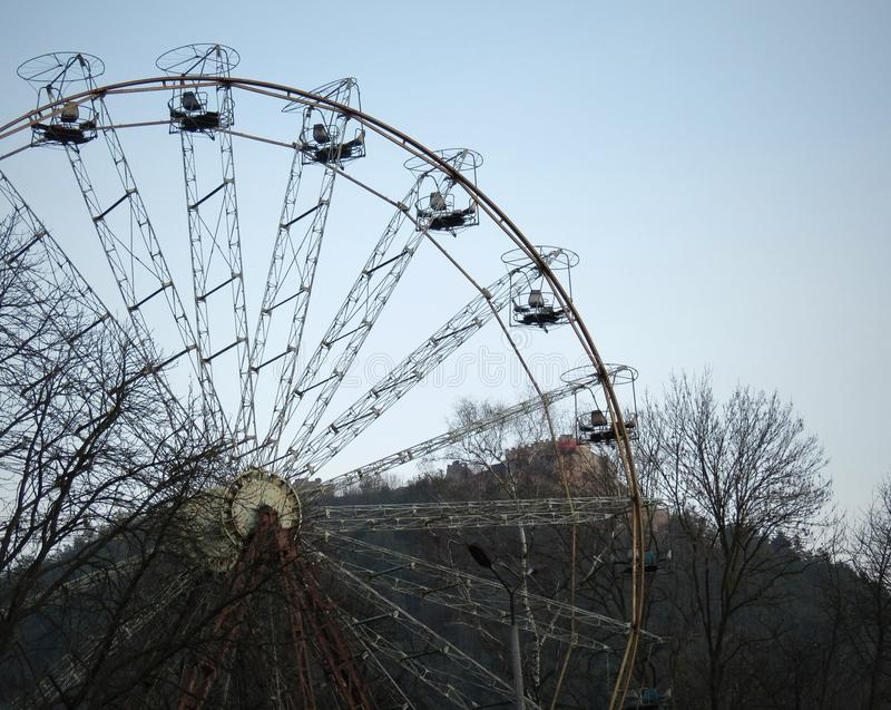 Ferriswheel royalty-vrije stock foto's