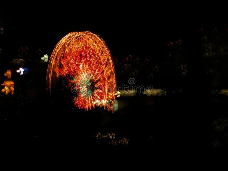 Ferriswheels Foto de Stock Royalty Free