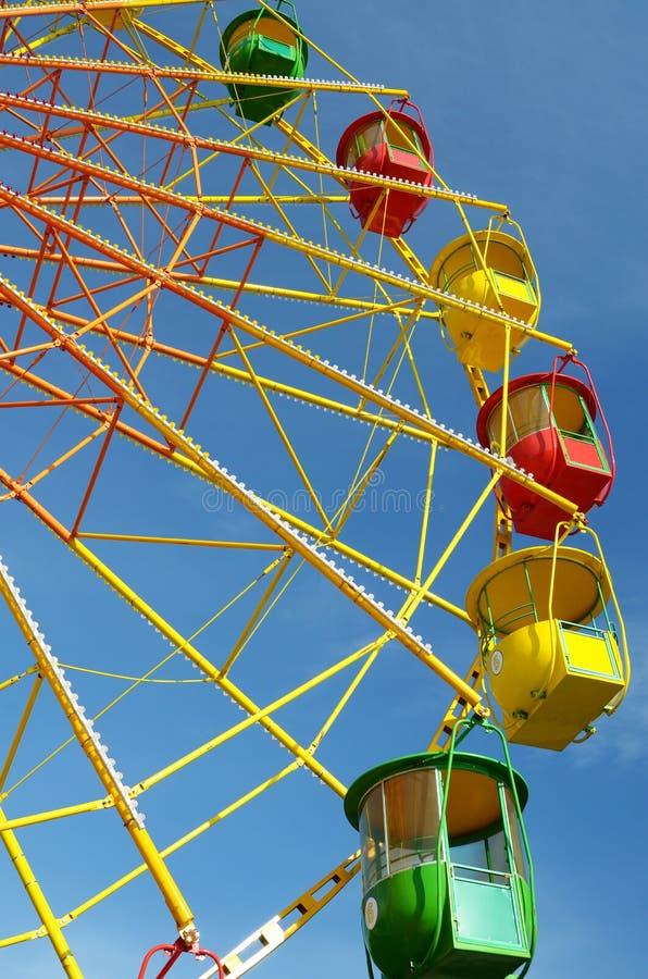 Ferriswiel van de kleur stock fotografie