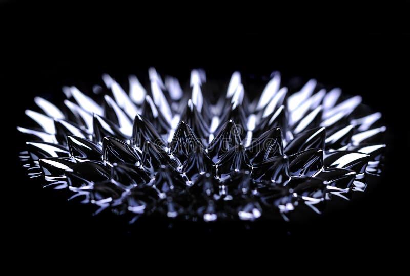 ferro жидкость стоковое изображение rf
