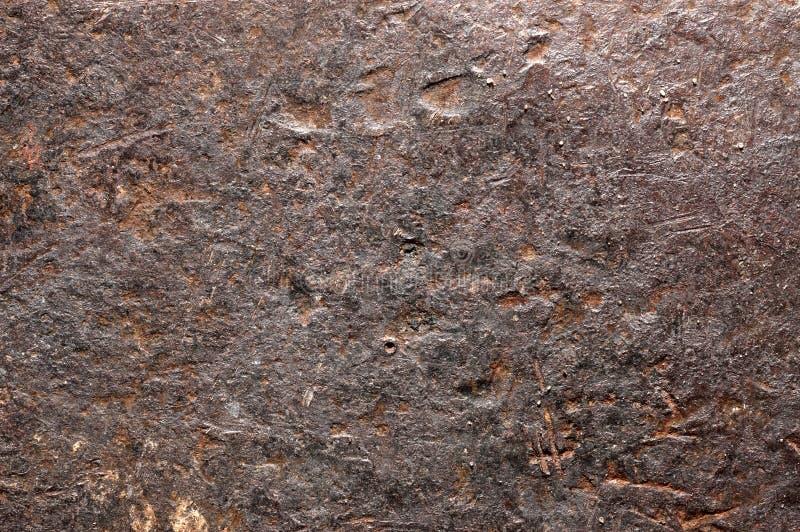 Ferro arrugginito. immagine stock