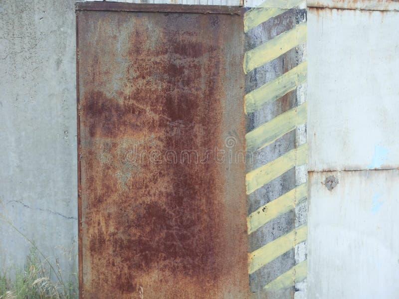 Ferro arrugginito di struttura fotografie stock libere da diritti